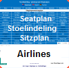 Seatingplan airlines