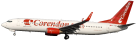 Website Corendon Dutch Airlines