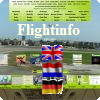 Flight information with o.a. apps,travel distances, etc.