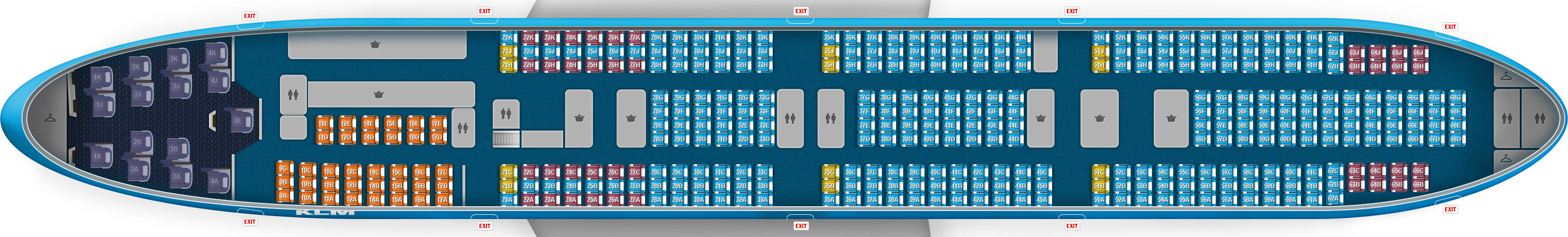 Boeing 737 800 Seating Chart Delta
